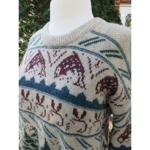 Woolrich Rare Vintage Fishing Unisex Fall Sweater